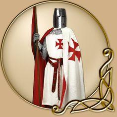 Costume - Cloak of the Knights Templar - TheVikingStore.