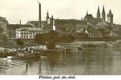 Kolín přístav poč. 20. stol