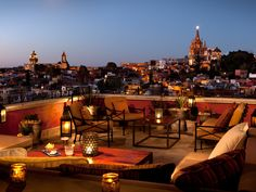 At these five rooftop eateries in San Miguel de Allende, you�ll find great food, inventive drinks, and Instagram-worthy views over the city.