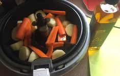 Beautiful halogen oven roast pork with veg – thedirtydiet Halogen Oven Recipes, Convection Oven Recipes, Pork Roast In Oven, Pot Roast, Apple Sauce, Nom Nom, Carrots, Healthy, Ethnic Recipes