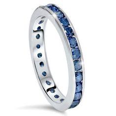 "Wedding band w Sapphires ""thin blue line"" / love!!!!!!!"