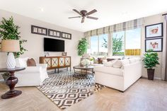 Camino Plan 2 - Great Room | Pardee Homes