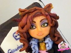 Wallie's cakes: Monster High - Clawdeen Wolf