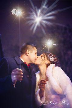 Świąteczne zdjęcie ślubne :)