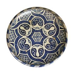 mihrican ,çini cini by dena Pottery Plates, Ceramic Plates, Ceramic Pottery, Decorative Plates, Ceramic Painting, Ceramic Art, Moroccan Plates, Islamic Tiles, Plate Wall Decor