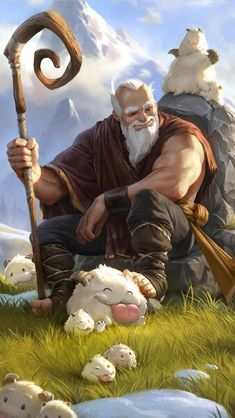 Legends of Runeterra Poro Herder HD Mobile, Smartphone and PC, Desktop, Laptop wallpaper resolutions. Fantasy Character Design, Character Creation, Character Concept, Character Inspiration, Character Art, Concept Art, Fantasy Rpg, Fantasy Artwork, Dnd Characters