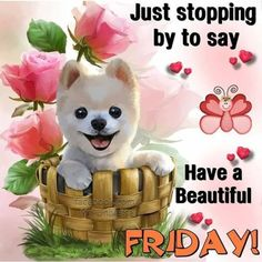Cartoon DIY Diamond Cardboard Painting Cross Stitch Kits Stand On Desk Diamond Embroidery Painting Mosaic On Cardboard Decor Today Is Friday, Good Morning Friday, Cute Good Morning, Good Morning Greetings, Happy Friday, Monday Greetings, Friday Pictures, Friday Images, Friday Pics