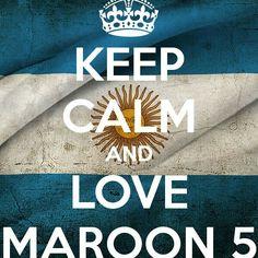 Maroon5 argentina keep calm