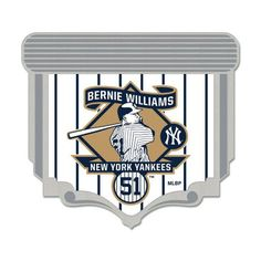 Bernie Williams New York Yankees WinCraft Player Pin