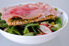 Radish Avocado Salad