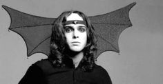 "A 23-year-old Peter Gabriel of Genesis in costume as ""The Watcher in the Skies,"" 1973"