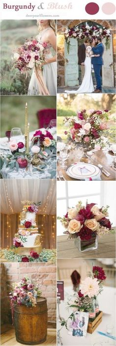 Top 5 Fall Wedding Colors for September Brides | September, Weddings ...