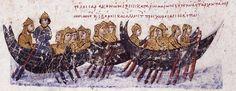 Арабы плывут захватывать Крит