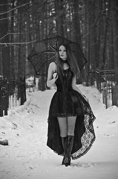 Beautiful and impractical in the snow but still <3 the look and the photo.