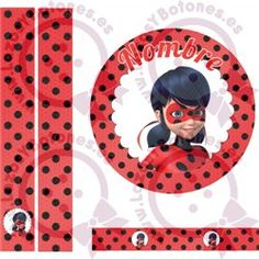 LADYBUG - ROJO/NEGRO Cumpleaños Lady Bug, Lady Bob, Ladybug Party, Minnie Mouse Party, Photo Booth Props, Miraculous Ladybug, Cute Love, Rainbows, Party Planning