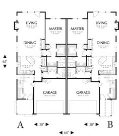 House Plans  Home Plans and floor plans from Ultimate Plans   Semi    House Plans  Home Plans and floor plans from Ultimate Plans