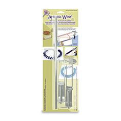 Professional Deluxe Coiling Gizmo, 5 Rods, 7mm, 5mm, 3mm, 2.5mm, 1mm x 38.1cm