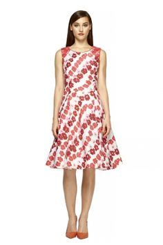 63f14194618 Vintage Floral Dance Dress. Kay UngerMost ...