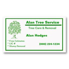 20 best tree service business cards images on pinterest business tree service business card colourmoves