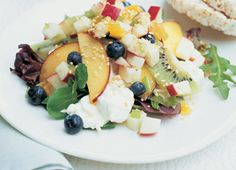 This fruity cottage cheese salad is sure to be refreshing.