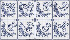 Free Easy Cross, Pattern Maker, PCStitch Charts + Free Historic Old Pattern Books: Sajou No 603 Cross Stitch Letters, Cross Stitch Borders, Counted Cross Stitch Patterns, Cross Stitching, Monogram Wall, Monogram Alphabet, Diy Embroidery, Cross Stitch Embroidery, Wedding Cross Stitch