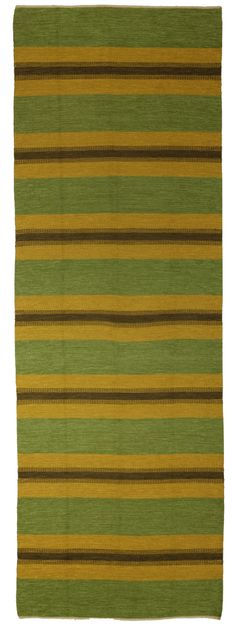 Anonymous; Wool Flat-Weave Runner, 1950s.
