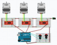 So far, we've covered the basics of putting together code that moves a stepper motor; we even added some push buttons which allows us to move in either direction of rotation. Cheap Hobbies, Arduino Stepper Motor Control, Hobby Lobby Furniture, Hobby Kids Games, The Parking Spot Hobby, Cnc Projects, Cool Tech, Wire, Arduino Projects
