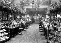 Harrod's Perfume Counter, 1910