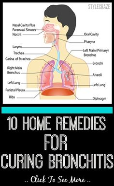 Bronchitis is an inflammation or swelling of airways that carry air to & from the lungs. Here are simple home remedies that are quite handy & you will be amazed to know.