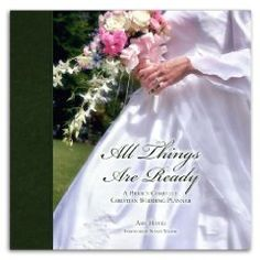 """Wedding planner """"All Things Are Ready"""" on Amazon.com"""