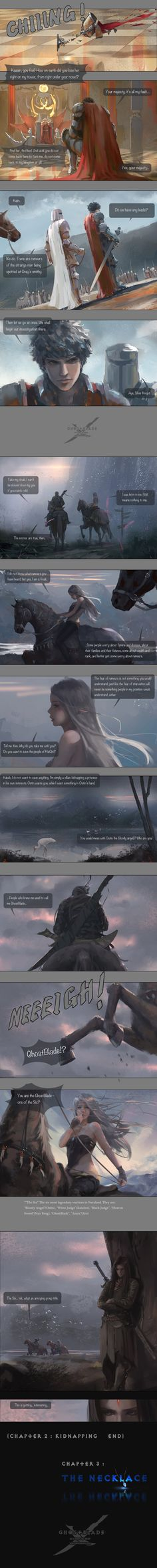 GhostBlade - Chapter 2 : Kidnapping (part III) by wlop on deviantART