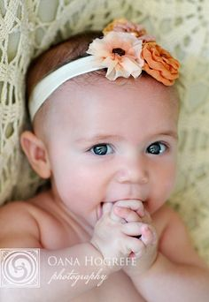 Headband for 6 month pictures