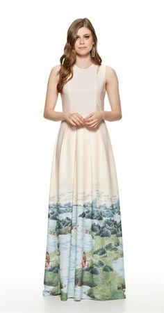 Só na Antix Store você encontra Vestido Longo Menina Cisne com exclusividade na internet
