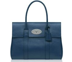 Mulberry Slate Blue Bayswater :)