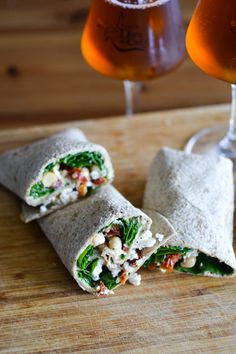 Spinach, Chickpea an