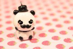 Mustache Panda Charm by MiniMums