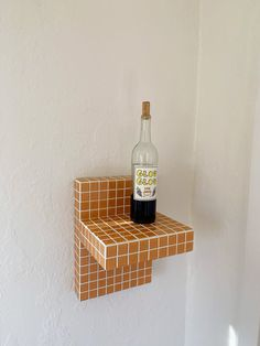 Tile Tables, Cube Side Table, Interior And Exterior, Interior Design, Hanging Bar, Reno, Decoration, Floating Shelves, Sweet Home