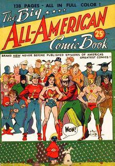 Big All-American Comic Book (December 1944)