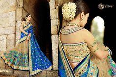 NEW DESIGNER SARI INDIAN SAREE ETHNIC BOLLYWOOD PAKISTANI WEDDING PARTY WEAR #Unbranded #SareeSari #WeddingPartyWearSaree