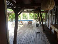 Villa Bwa D'Eden Villa zen et atypique  3 chambres et un chalet d'invit�s   clim  piscine - Location Villa de standing #Guadeloupe #SainteAnne