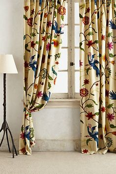 I actually adore these because they look like the drapery in the 17th century house I volunteer at