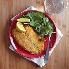Parmesan-Crusted Tilapia | MyRecipes.com