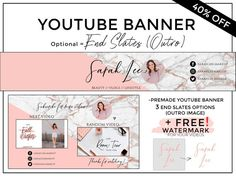 Free Banner Maker Online Without Watermark Youtube Design, Youtube Banner Design, Youtube Banners, Youtube Banner Template, Youtube Hacks, You Youtube, Youtube Logo, Free Youtube, Start Youtube Channel