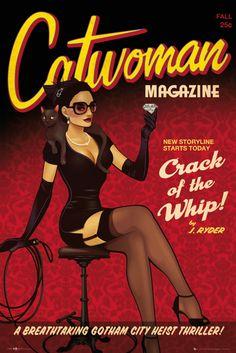 Batman DC Comics Bombshells Catwoman - Official Poster