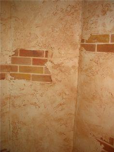 brick and plaster murals - Google Search