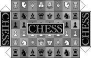 "Small Stuff's PrintMini: Printable Dollhouse Miniatures & Printies  1"" Scale Board Games: chess"