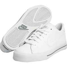 Nike Sweet  classic leather white sneaker, $60.00  zappos