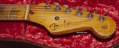 1954 Fender Stratocaster guitar 54 Fender Strat guitar collector info vintage pre-CBS