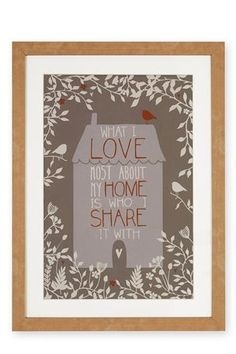 Buy Framed Home Print from the Next UK online shop