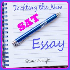 What does the New SAT Essay look like? How has it changed? What can you do to prepare your students for it? Find out how to tackle the SAT essay. Persuasive Speech Topics, Writing Topics, Paragraph Writing, Essay Writing, Academic Writing, Teaching Writing, Sat Essay Tips, New Sat, Act Prep